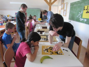 Gó tanítás - hejőkeresztúri iskola